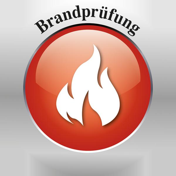 Brandprüfung