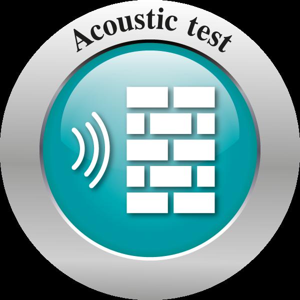 Acoustic test