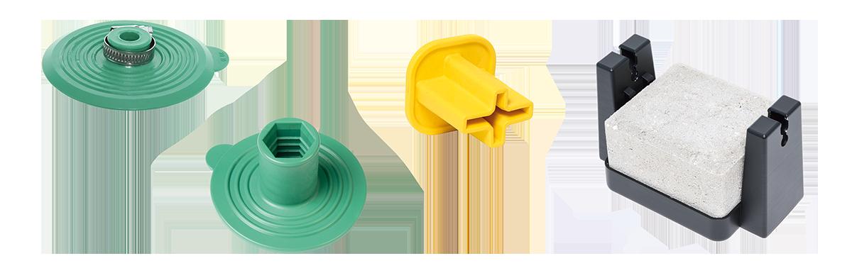 Accessoires de protection contre la foudre