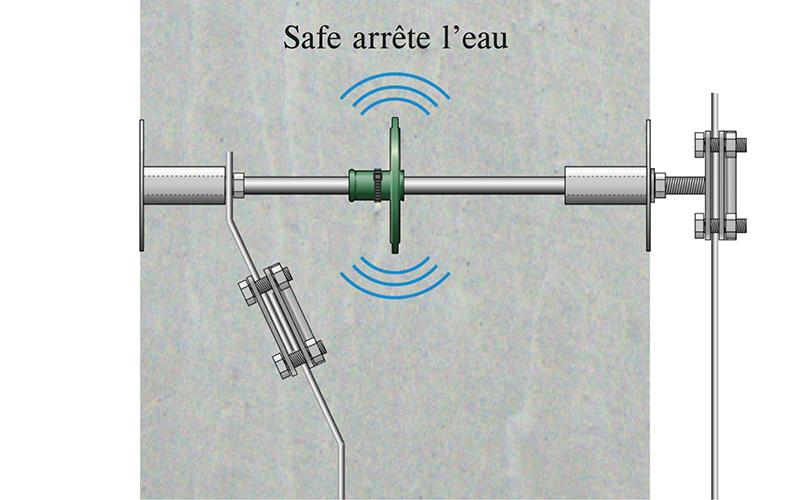 Traversée de paroi M12 « Safe »
