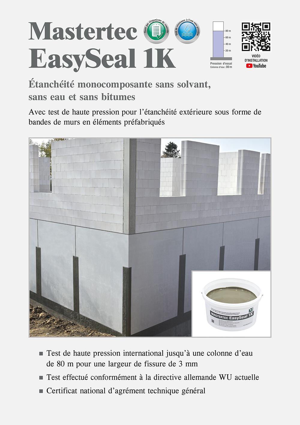 Prospekt Mastertec EasySeal 1K
